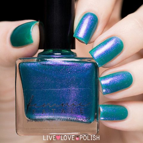 Femme Fatale Weed in Heart | Live Love Polish