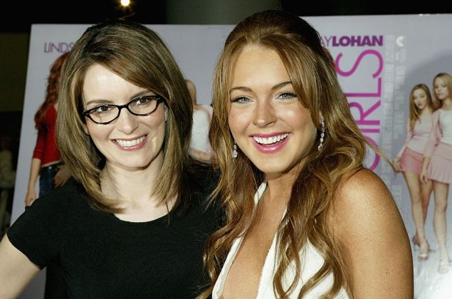 Tina Fey misses the 'beautiful, healthy Lindsay Lohan' from Mean Girls.