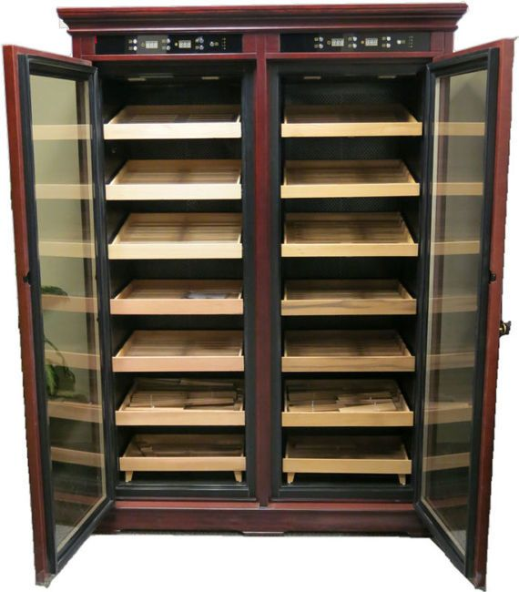 how to make a humidor cabinet