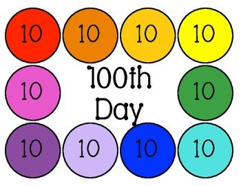 28 Best Images About 100th Day Of School On Pinterest
