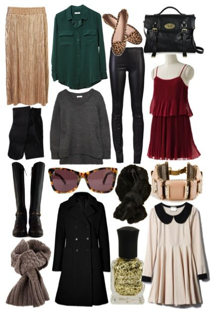 Winter Wardrobe EssentialsFashion, Perfect Winter, Winter Wardrobes, Peter Pan Collars, Winter Essential, Black Tights, Wardrobes Essential, Lauren Conrad, Leopard Prints