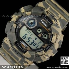 Buy Casio G-SHOCK Military Camouflage Sport Watch GD-120CM-5, GD120CM- Buy Watches Online | Casio NZ Watches