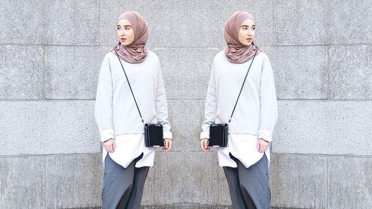 Siapa Bilang Pakaian Longgar Itu Kampungan? Dengan Sedikit Sentuhan, Pakaian Longgar Juga Bisa Tetap Kece