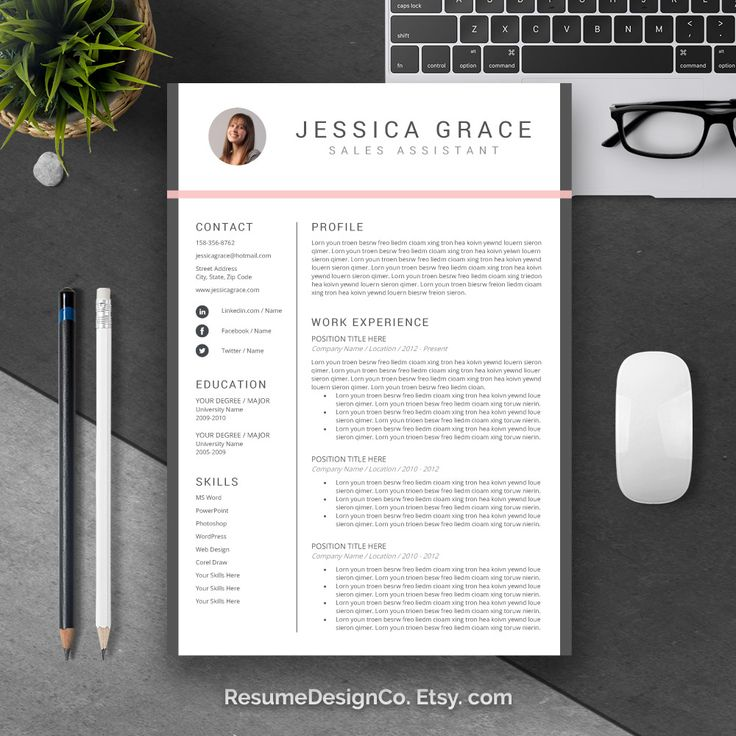32 best Professional Resume Templates images on Pinterest Cv - simple professional resume template
