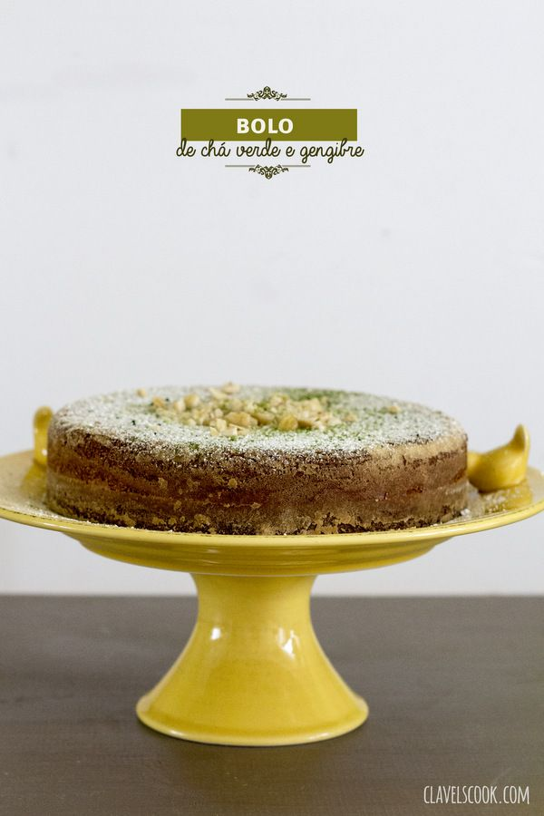 ginger and green tea cake