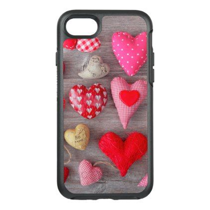 A Whole Lotta Love OtterBox Symmetry iPhone 8/7 Case - drawing sketch design graphic draw personalize