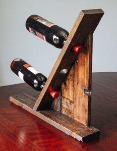 Подставка под винные бутылки. Дизайнерская мебель в Киеве.