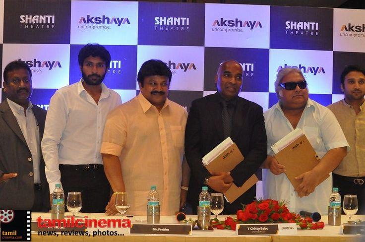 Actor #Prabhu Press Meet  More Stills http://tamilcinema.com/actor-prabhu-press-meet/  #Vikramprabhu #Ramkumar
