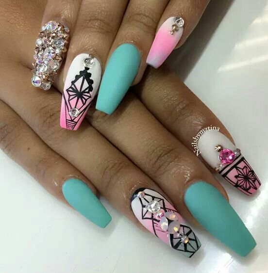 160 best nails images on Pinterest | Nail design, Cute nails and ...