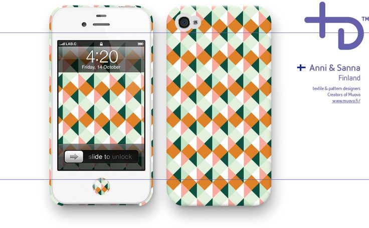Lab.C invited Muovo to design patterns for iPhone cases.