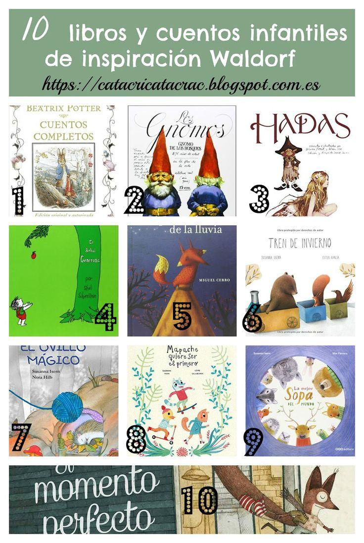 Selección de 20 cuentos y libros infantiles de inspiración: Montessori + Waldorf   CatacricatacraC Cuentos Infantiles