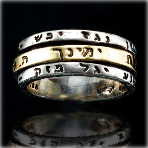 Ana Bekoach Gold Kabbalah Ring