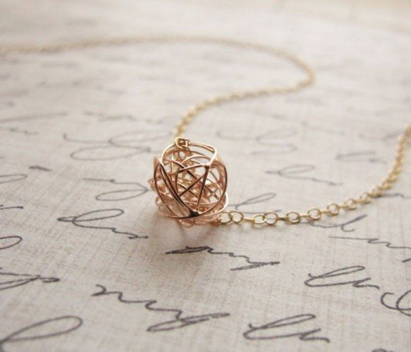 tangle ball necklace...
