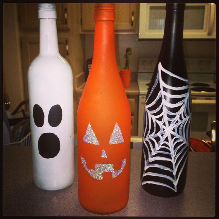 How To Decorate Wine Bottles For Halloween Beauteous 39 Best Applebee's Halloween Images On Pinterest  Halloween Wine Design Decoration