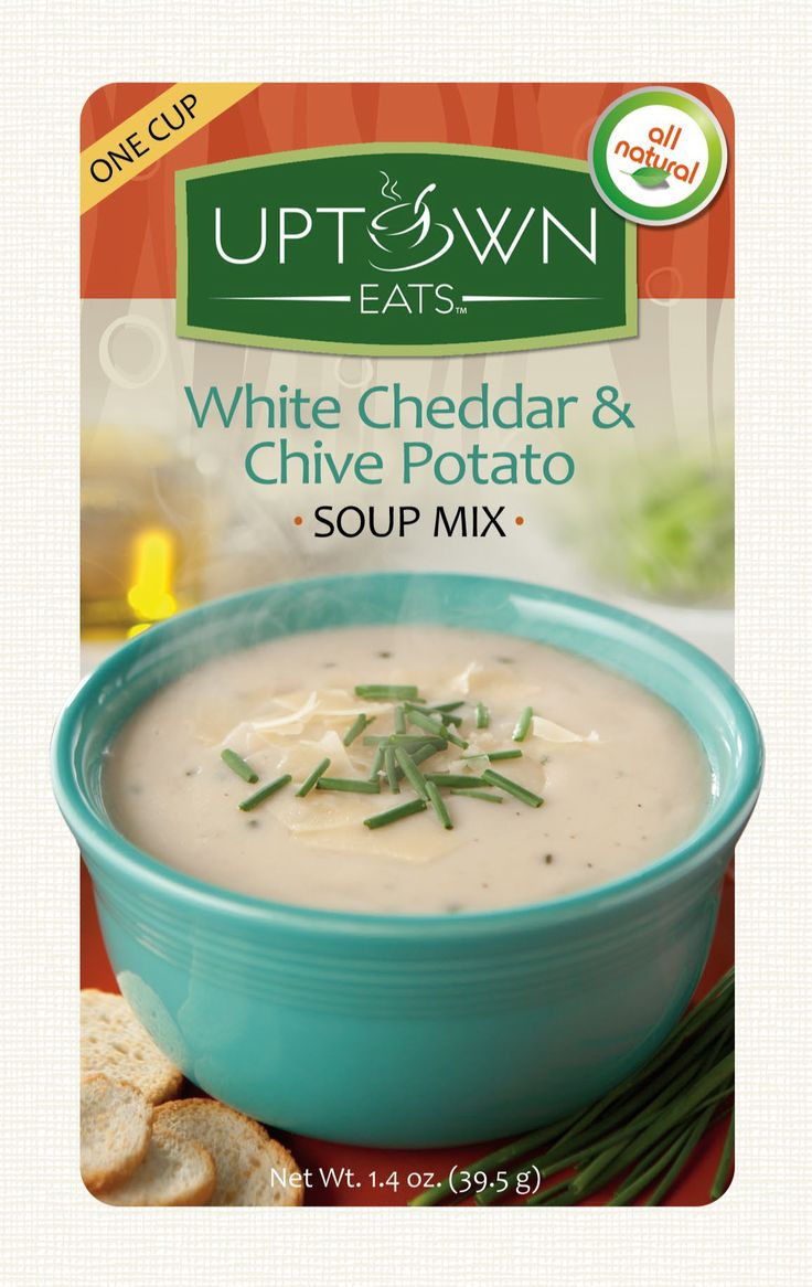 Uptown Eats All Natural White Cheddar & Chive Potato Soup ...