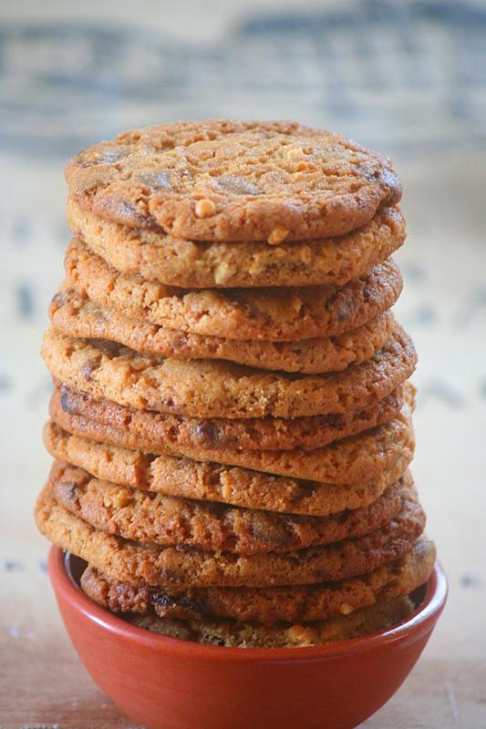 Kifli és levendula: Csokoládés-mogyoróvajas keksz