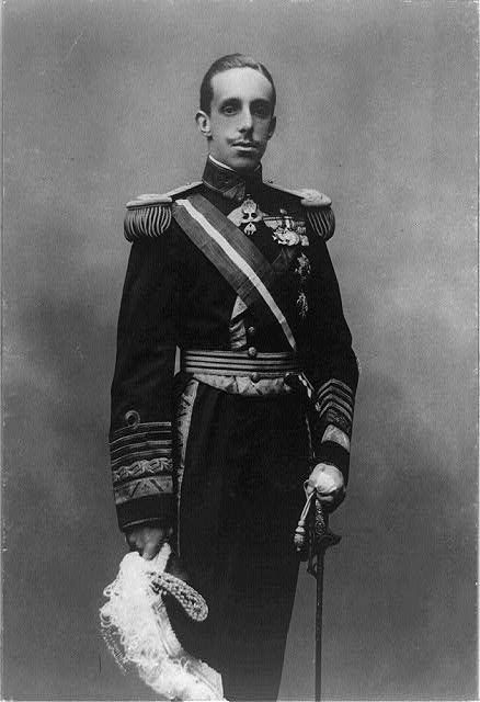 Alfonso XIII, Alfonso León Fernando María Jaime Isidro Pascual Antonio de Borbón y Austria-Lorena; (Alphonse XIII); 17 May 1886 – 28 February 1941) was King of Spain from 1886 until 1931. His mother, Maria Christina of Austria, was appointed regent during his minority. In 1902, on attaining his 16th year, the King assumed control of the state.
