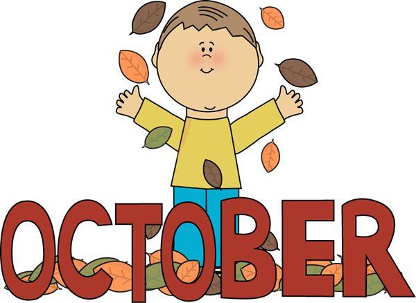 9 best month clip art images on pinterest seasons months calendar rh pinterest com october clip art for teachers .gif october clip art