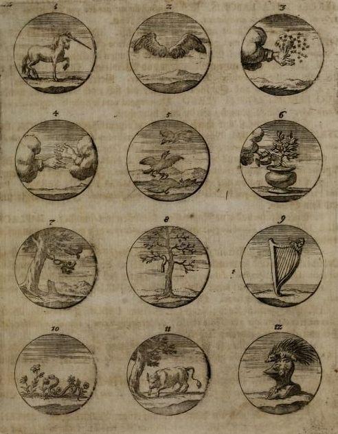 """"""" From Devises et Emblemes Anciennes & Modernes, Tiree de plus Celebres Auteurs, 1699. """""""