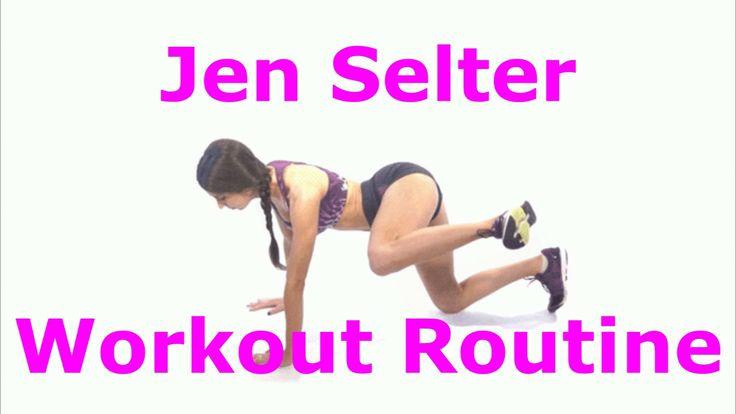 Jen Selter Workout Routine For Jen's Butt Videos [] jen selter workout []
