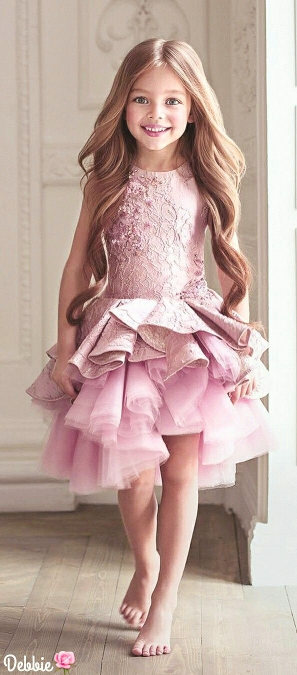 69 best vestidos niña diy images on Pinterest | Children dress ...