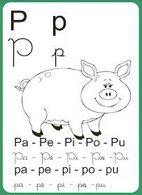 Alfabeto-letra-cursiva-p letra P  #Alfabeto #Letras #cursivas #imprimir  #educacao #infantil #alfabetização #criança