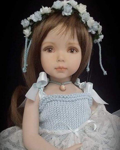 LCD dolls - porcelain doll -painted eyes and face from portrait 1 mold by Dianna Effner#LCDdolls #diannaeffner #diannaeffnerdoll #diannaeffnerlittledarling #diannaeffnermold #porcelaindolls #porcelaindoll #artdoll #artdolls #collectibledolls #creative #fattoamano #dollscollector #bisquedoll #dollstagram #dollinstagram