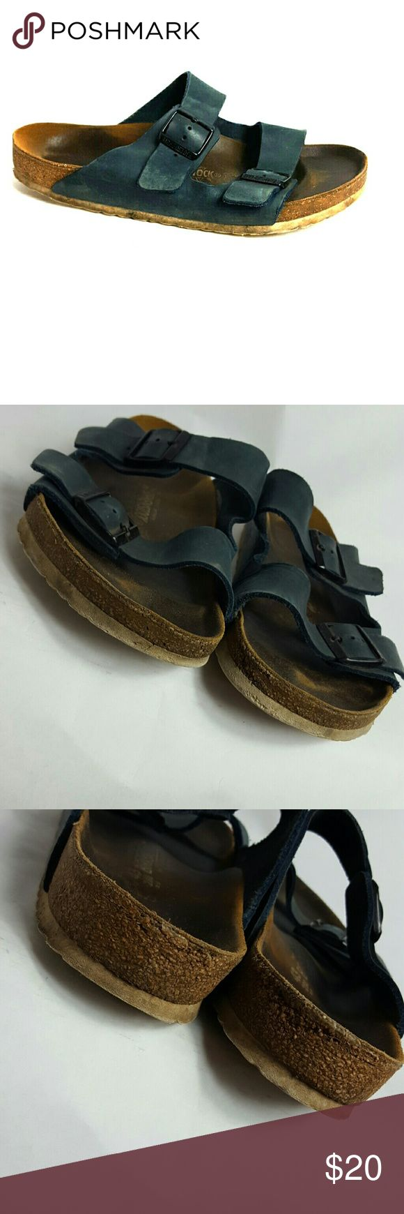 Birkenstock flip flops size European 43/ us 9.5 Condition 8/10, they have been worn, scuffs on both shoes from normal wear, let me know if you would like me to add more pictures or you want to ask something, Birkenstock Shoes Sandals & Flip-Flops