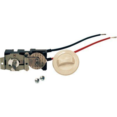 Cadet Single Pole Field Mount Thermostat Kit - 17 Amp, Almond, Model# CTT1A by Cadet. $14.99. The Cadet Single Pole (2 wires) Field Mount Thermostat Kit includes knob and screws for mounting on a C/CS/CT/CST series Cadet ComPak Plus-Series heater. In Almond. Mounting Type: Heater mount,Thermostate Range (deg F): 45-85,Color: White,Compatible With: Cadet C/CS/CT/CST Series in-wall electric fan heaters,LED Light: No,Common Usage: Single-pole thermostat
