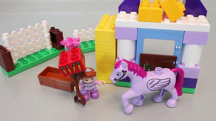 Disney Princesa Sofia o primeiro estábulo Real |  LEGO Duplo Brinquedos