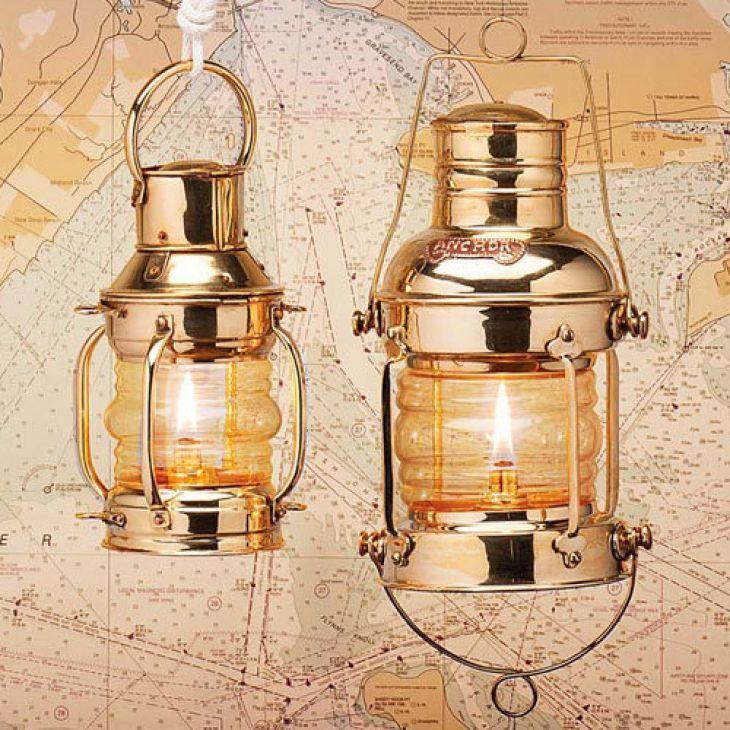 Brass Anchor Lamps Kerosene Oil Lamps Lamp Oil Lamps Lamps For Sale