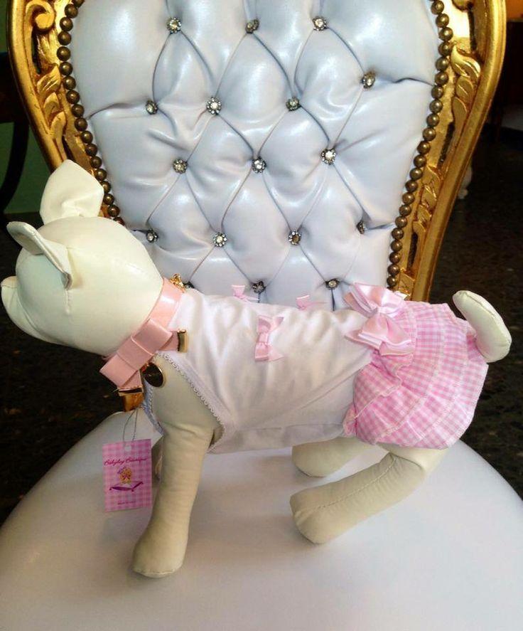 Canottierina Baby Dog Boutique e collare Inamorada. Molto fashion