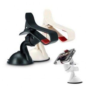 Suport Auto Apple iPhone 7 Plus | Prindere Bord / Parbriz, Reglare 360 Grade, Culoare Negru