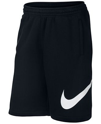 Nike Men's Club Swoosh Fleece Shorts - Nike - Men - Macy's