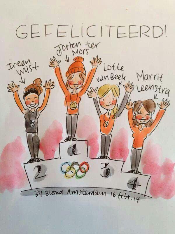 1500 meter vrouwen, 1,2,3,4!!