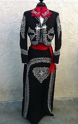Mexican Charra,Mariachi Suit Size 42 From Mexico 5 PieceSet.Traje Charra Talla42 | Clothing, Shoes & Accessories, Women's Clothing, Suits & Blazers | eBay!