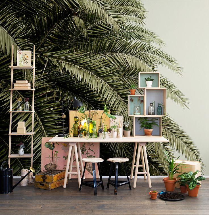 85 Wohnzimmer Tapeten Ideen: Blätter Tapeten, Tapeten Und Wohnzimmer