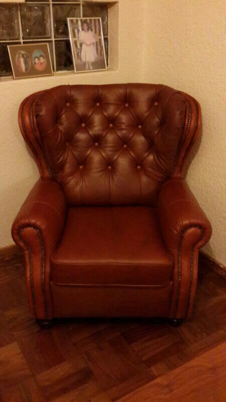 Chesterfield made by my dad Raymond Hendricks