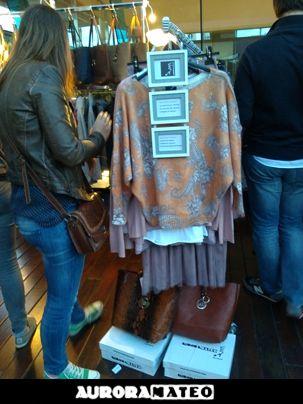 #sueter #auroramateomoda #shoppingbcn #modainvierno2014 #bolsoreversible