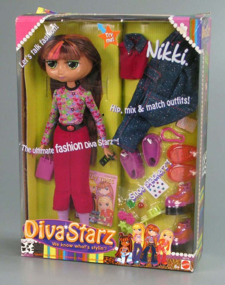 111.3861: Diva Starz Nikki | doll | More Dolls | Dolls | Online Collections | The Strong