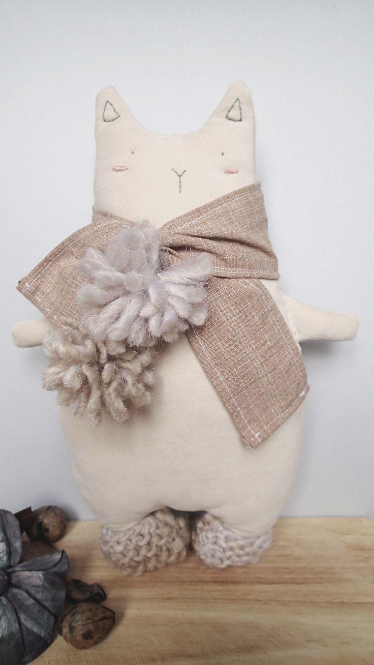 Handmade cuddler from Italy! Antonio The Cat.