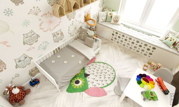 Kids room by PEKA STUDIO