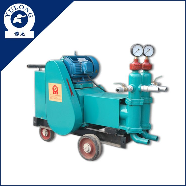 Double liquid cement grout pump electric grout pump