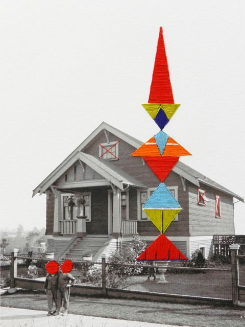 Hagar Vardimon, There is a Totem in My Front Yard 1 (2014)   Artsy