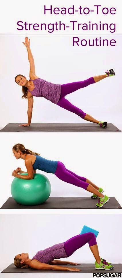 Head-To-Toe Strength-Training Routine | Medi Slight