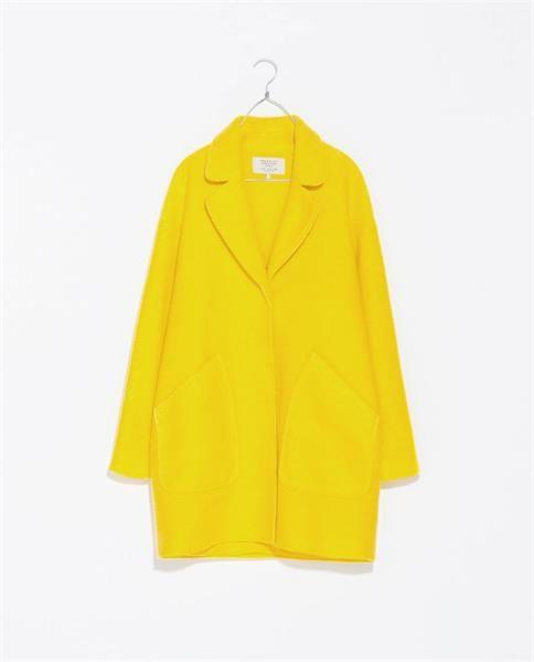 Хочу купить желтое пальто