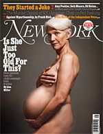 Parents of a Certain Age  Is there anything wrong with being 53 and pregnant?    By Lisa Miller