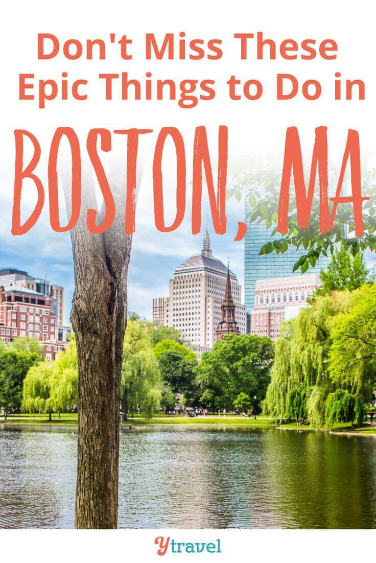 17 Legendary Things To Do In Boston Ma With Kids Boston Things