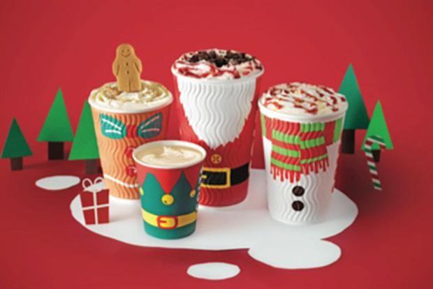 Christmas cups PD