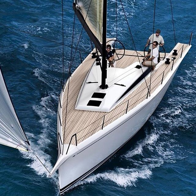 To celebrate its 50th Anniversary, Nautor's Swan is rolling out a sleek looking ClubSwan 50 one-design raceboat. The line drawings, digital renderings, and specs showcase a winner. 📷 regram from @nautorswan_official #clubswan #sailboat #sailing #raceboat #boatlife #onedesign